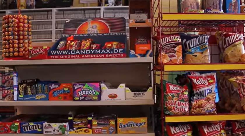 Videotheek snacks snoep