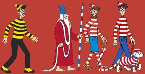 Waar is Wally vrienden