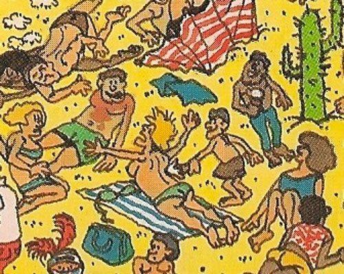 Waar is Wally strand