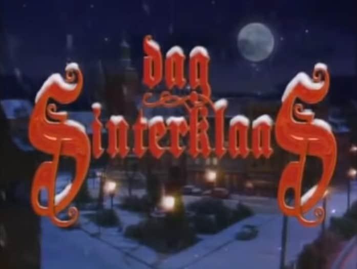 Dag Sinterklaas Bart Peeters serie vroeger