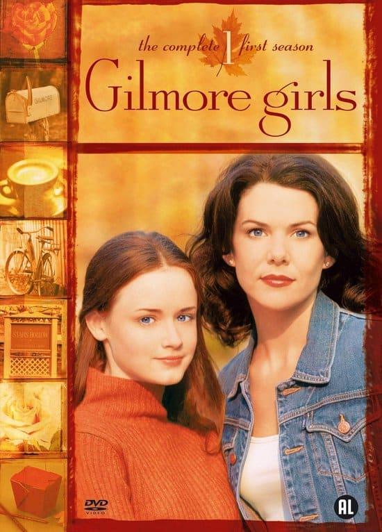 Gilmore Girls DVD cover tv serie