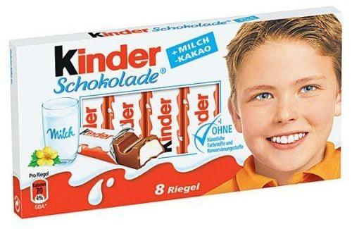 Kinderchocolade jongen verpakking