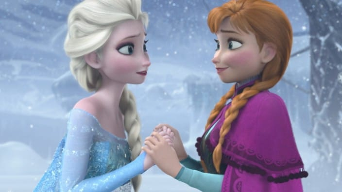 Elsa Anna Frozen disney prinsessen