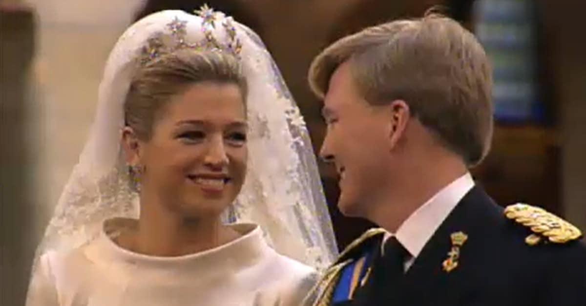 Koningin Maxima weetje huwelijk