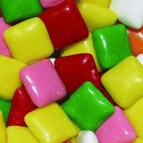 Chicklet kauwgom zoet vroeger