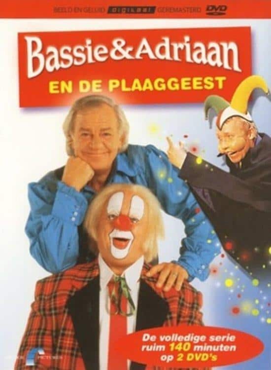 Bassie en Adriaan plaaggeest dvd