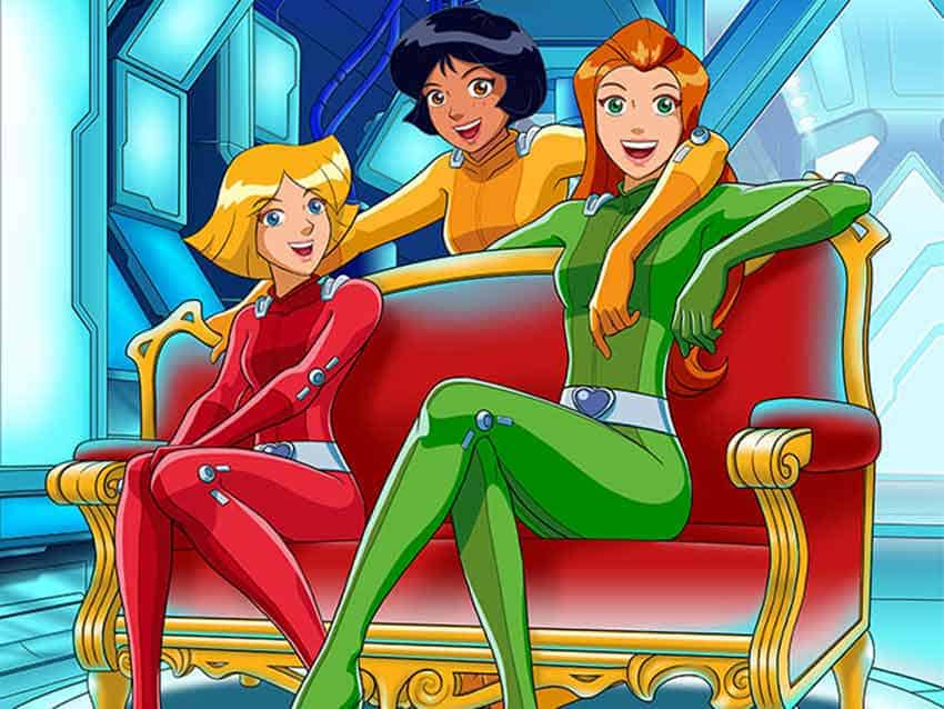 totally spies serie