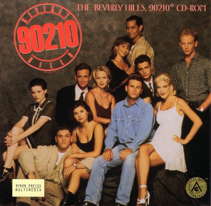 Beverly Hills 90210 serie vroeger
