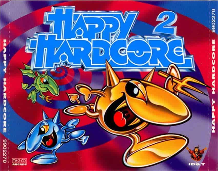 Happy Hardcore CD cover