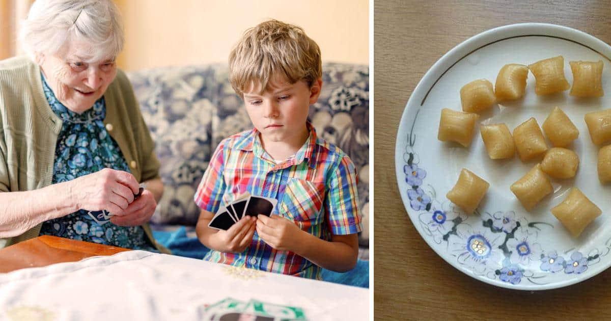 Snoepgoed grootouders vroeger