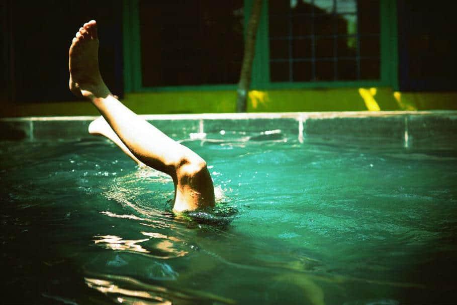 zwembad vroeger