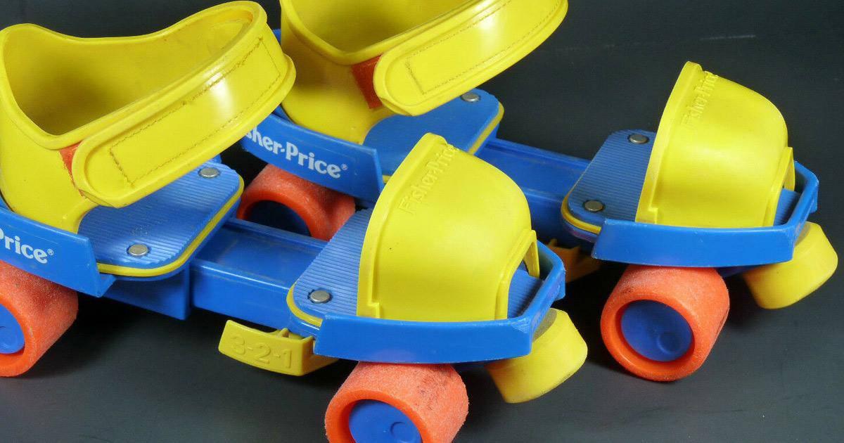 Fisher price skates rolschaatsen