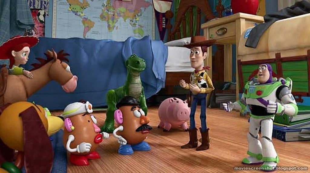 Toy Story momenten