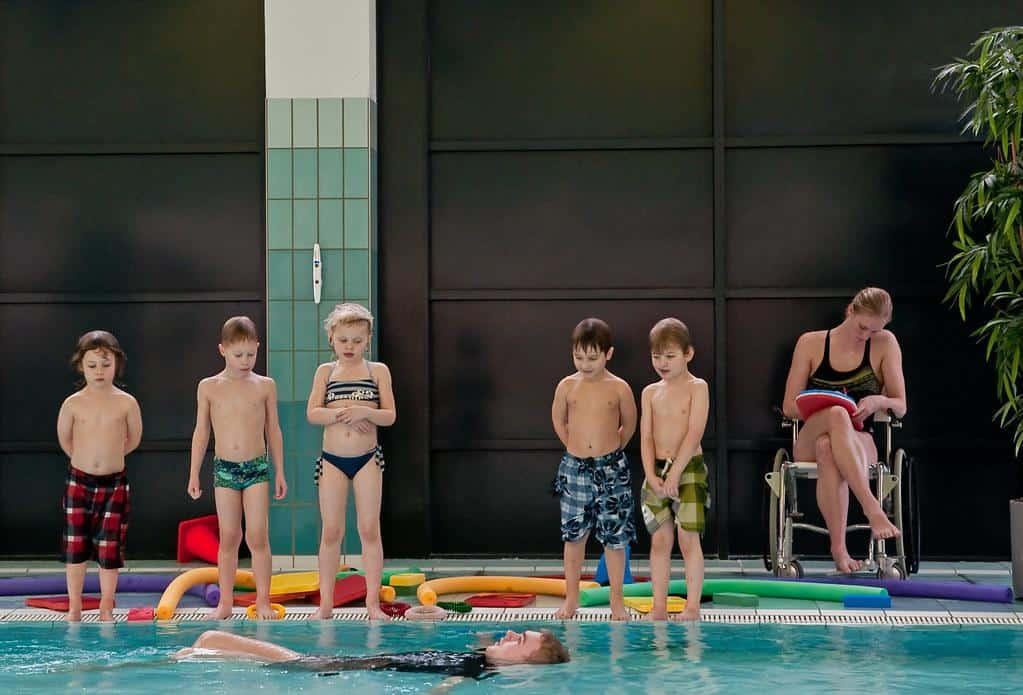 Zwemmen sport vroeger