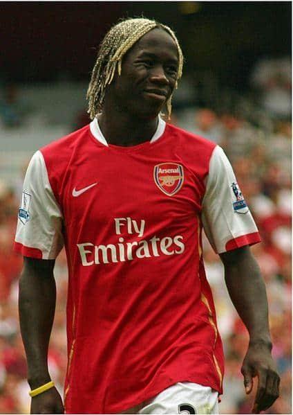 Bacary Sagna voetballer kapsel