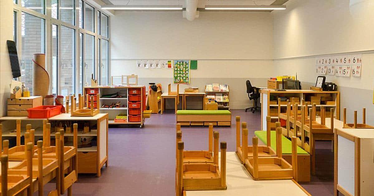 Basisschool klas lokaal