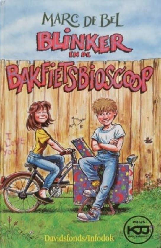 Marc de Bel boek blinker in de bakfietsbioscoop