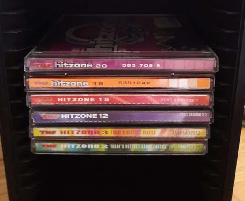 TMF hitzone cd's muziek vroeger