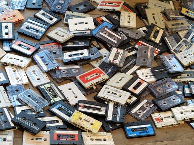 Cassette tapes muziek vroeger