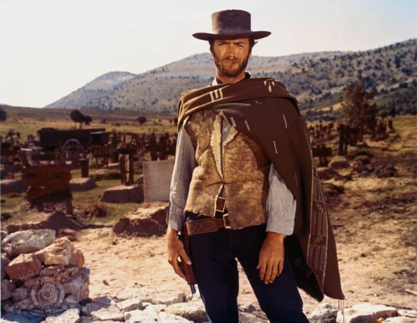 Klassieke Western films vroeger Clint Eastwood Good bad