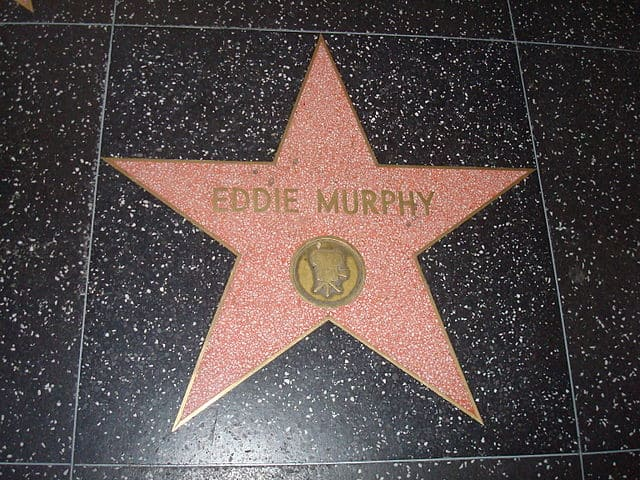 Eddie Murphy ster Hollywood