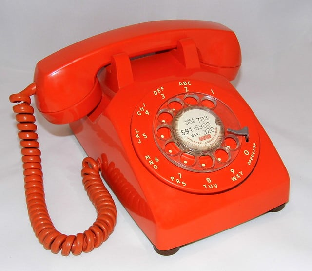 Telefoon vroeger jaren 80