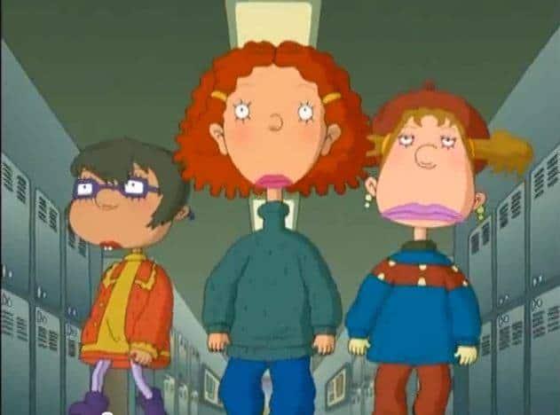 As told by ginger tekenfilm vroeger 90s