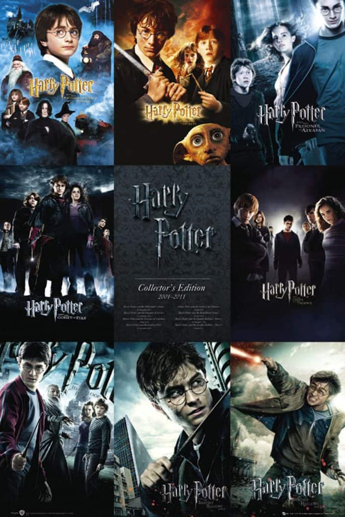 Harry Potter film filmseries vervolgen