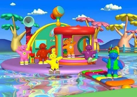 Jellabies water serie televisie vroeger