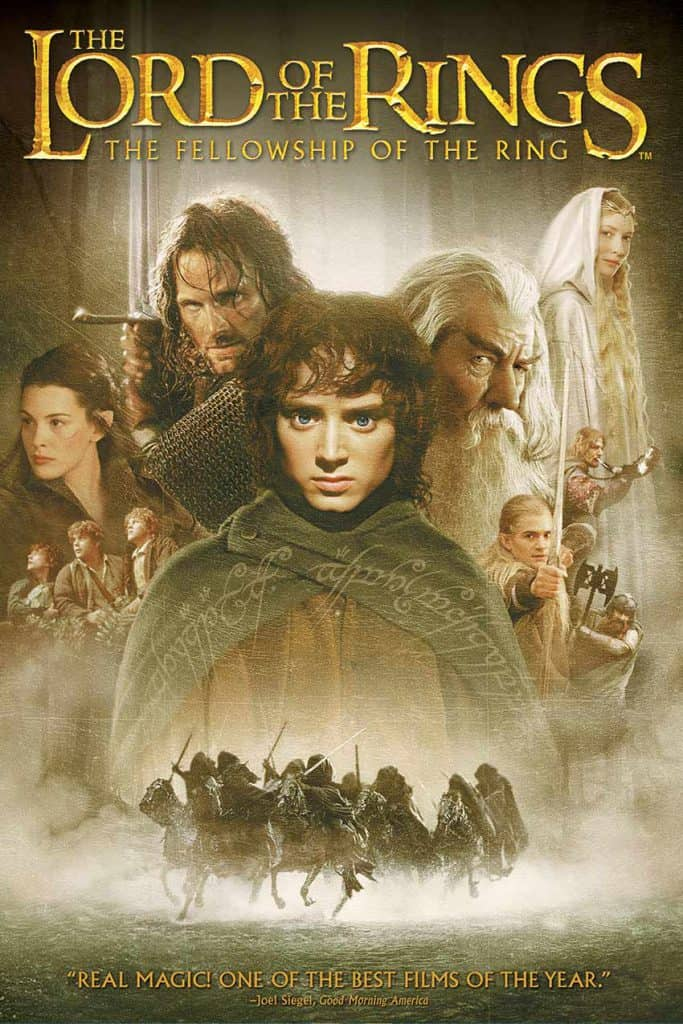 Lord of the rings filmseries