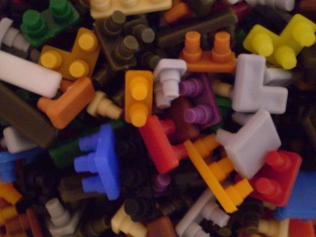 Ministeck steentjes speelgoed vroeger
