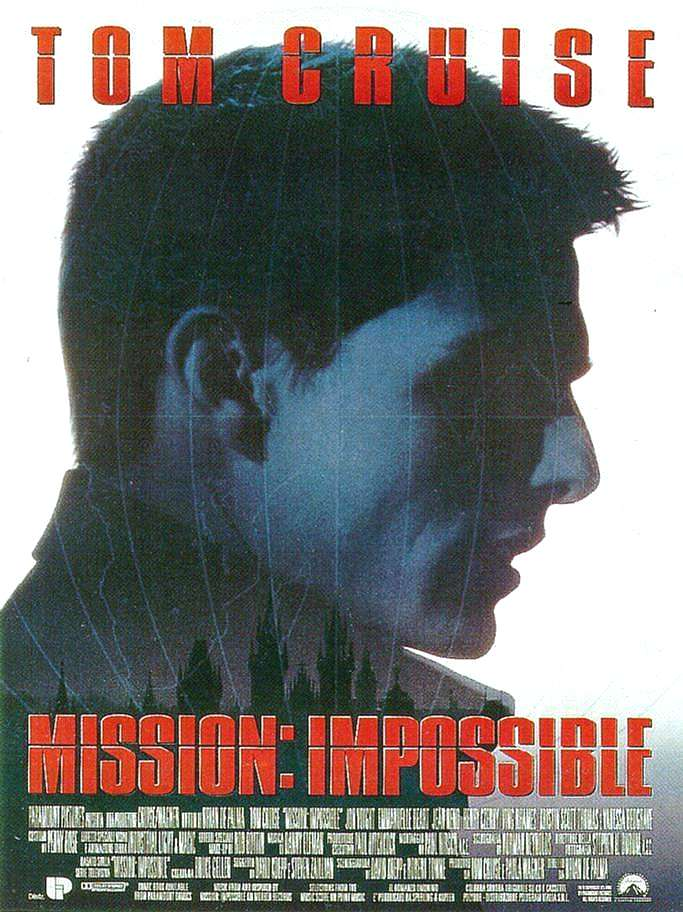 Mission Impossible filmposter filmseries