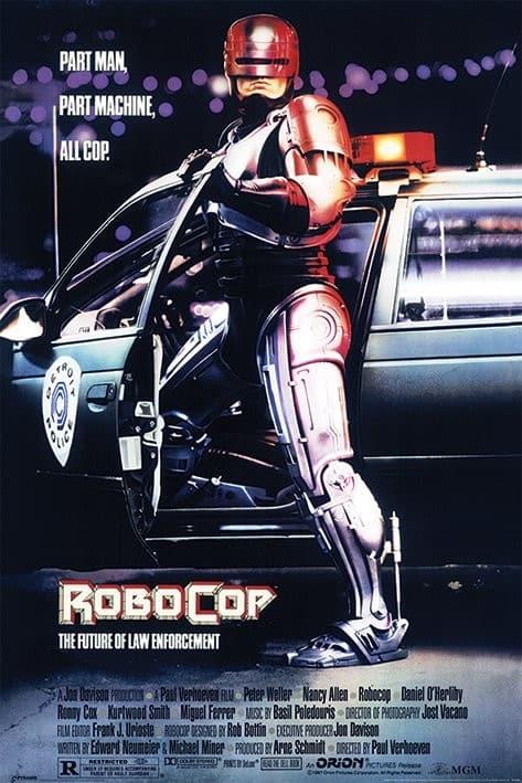 Robocop filmposter filmseries