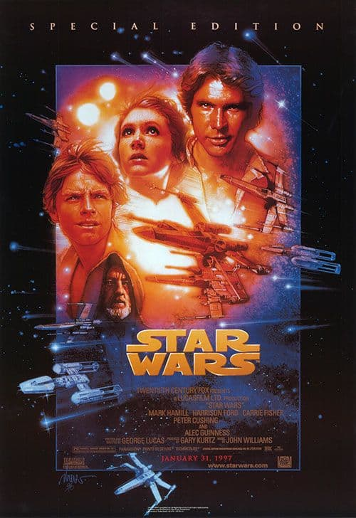 Star Wars filmposter filmseries