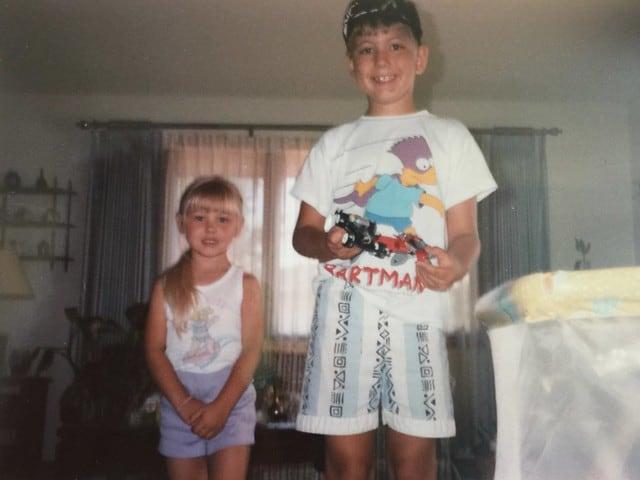 T-shirt mode jaren 90 vroeger 90s