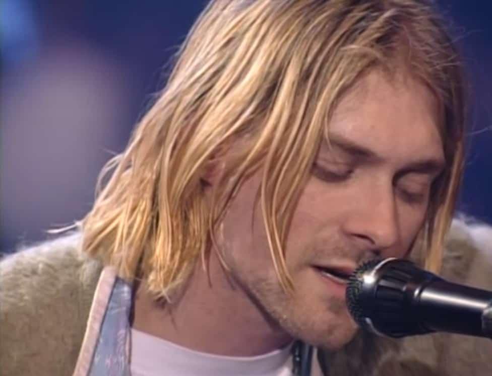 Kurt Cobain Nirvana Nevermind optreden unplugged