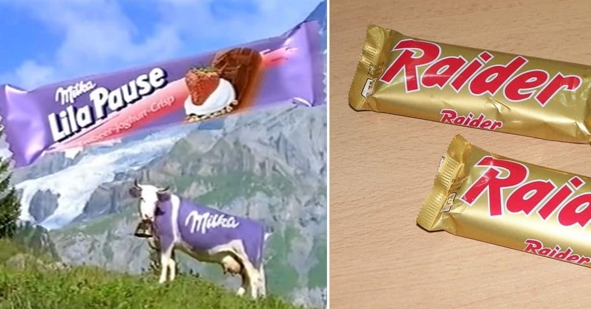 Chocolade vroeger lilapauze