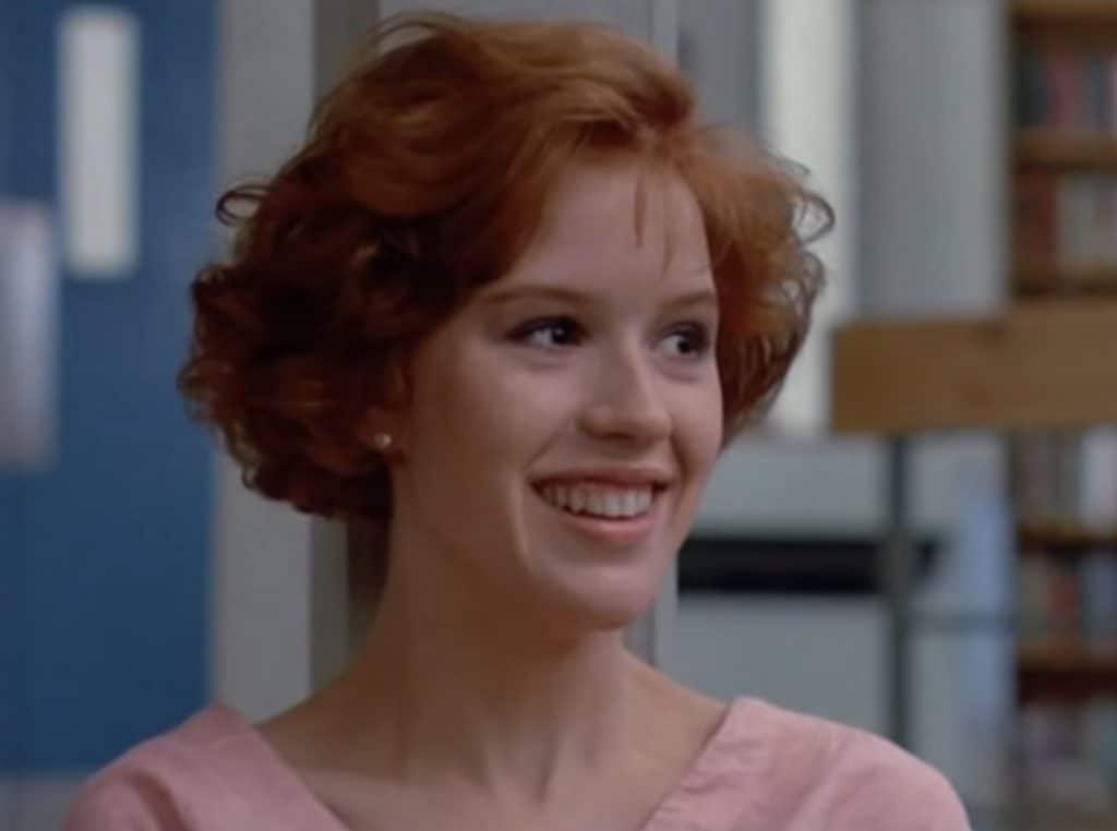 The Breakfast Club film vroeger Molly Ringland cast