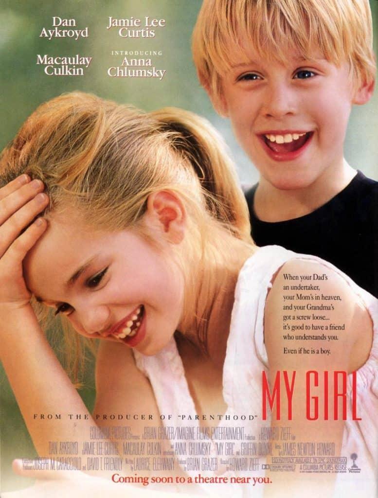 My Girl film vroeger kindsterren
