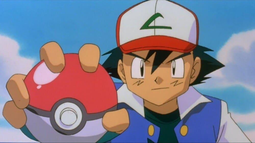 Pokemon Ash Ketchum serie vroeger vangen