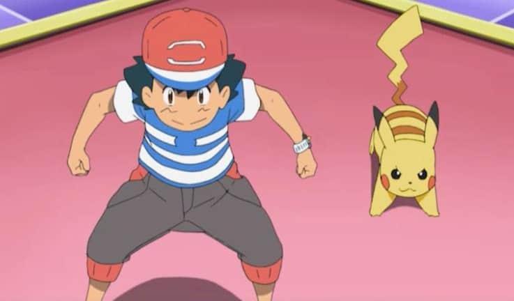 Pokemon Ash Ketchum serie vroeger