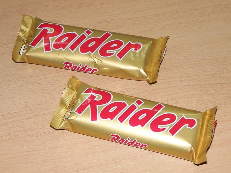 Raider chocolade reep vroeger twix