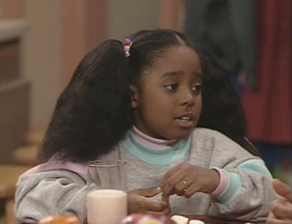Rudy Huxtable The Cosby show televisie kindsterren