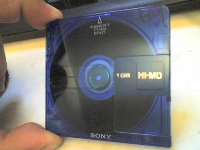 Sony MiniDisc muziek luisteren vroeger