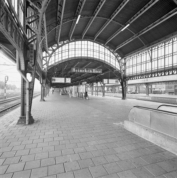 Station Den Bosch vroeger