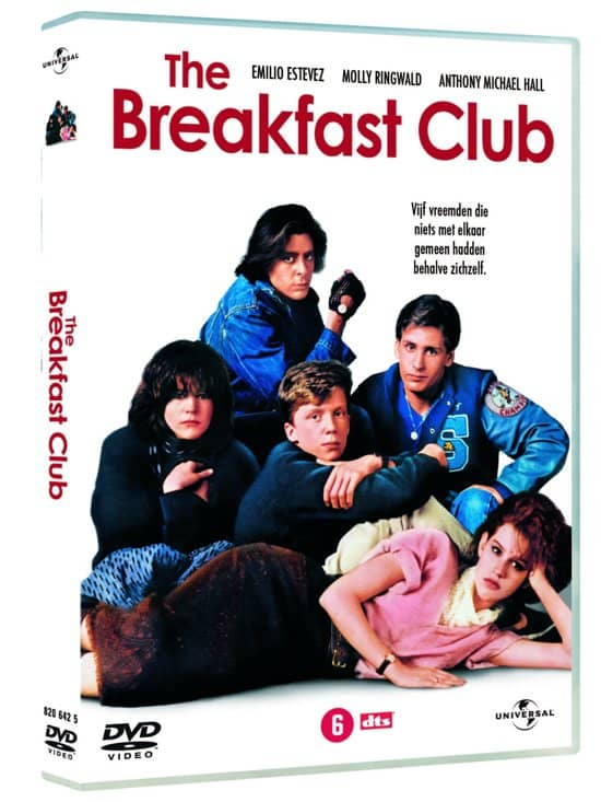 The Breakfast club DVD