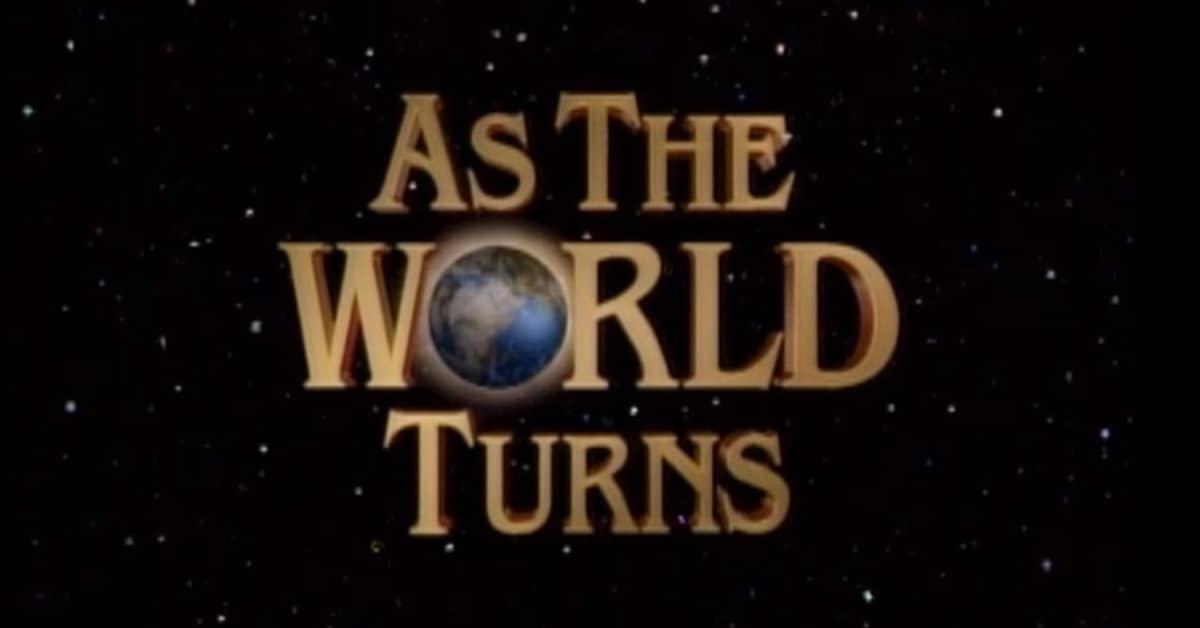 As The World Turns ATWT soap televisie serie