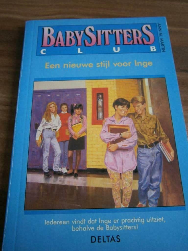 Babysitters club boek vroeger