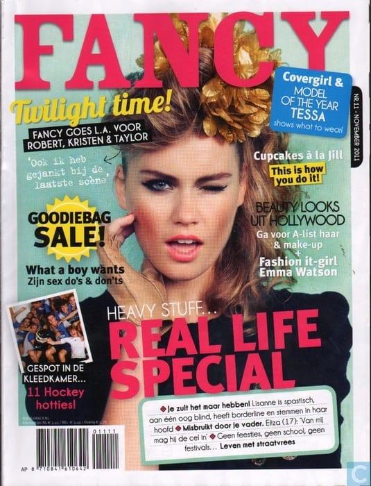 Fancy Magazine vroeger kleding mode modern