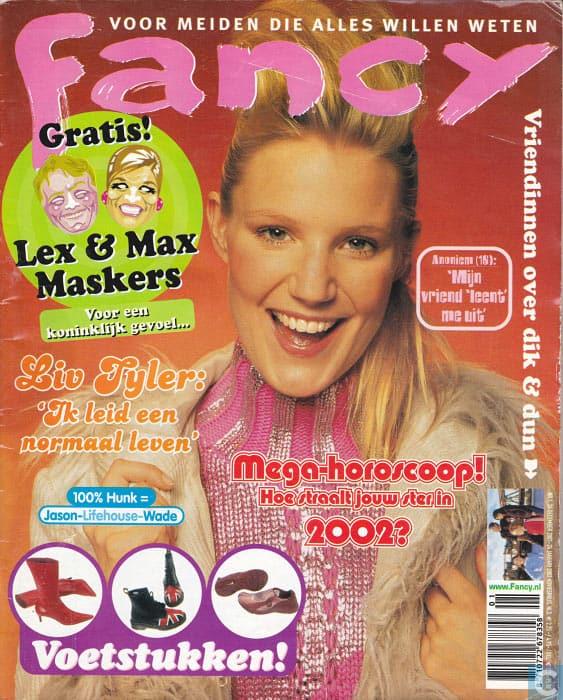 Fancy Magazine vroeger kleding mode